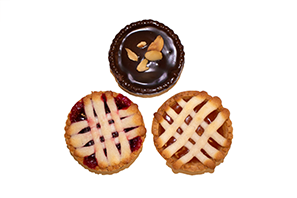 P19 Raspberry Nutella and Apricot Tart